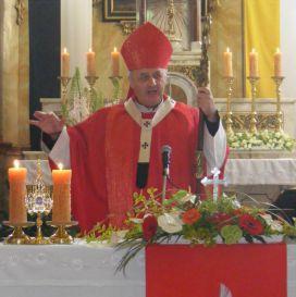 Arcibiskup Jan Graubner a ostatek bl. Karla I.