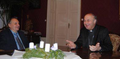 Pan ředitel Luger a Otec arcibiskup Jan